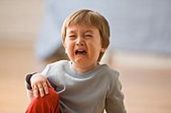 anak menangis frustrasi